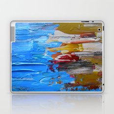 Beach Tide Acrylics On Stretched Canvas Laptop & iPad Skin