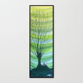 Happy Critter Tree no. 6 Canvas Print