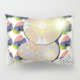Watercolor Texture Acrylic Swish Pattern Pillow Sham