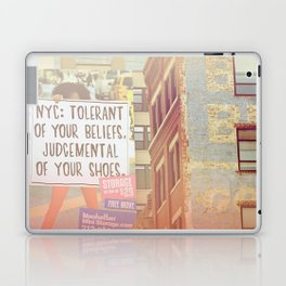 Tolerance Laptop & iPad Skin