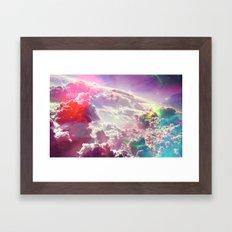 Clouds #galaxy Framed Art Print