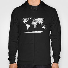 A Political Map of the World Hoody