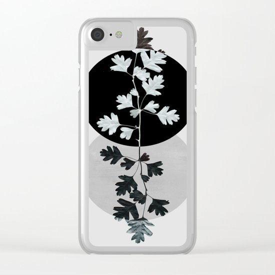 Geometry and Nature II Clear iPhone Case