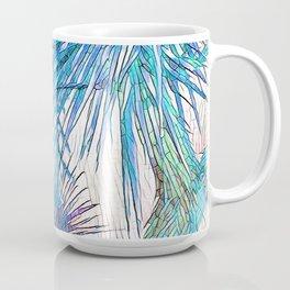 Joshua Tree VGBlue by CREYES Coffee Mug