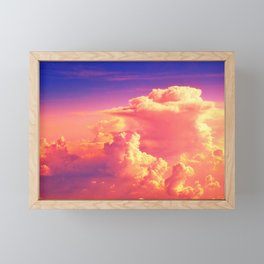 Sunset Sky of Dreams Framed Mini Art Print