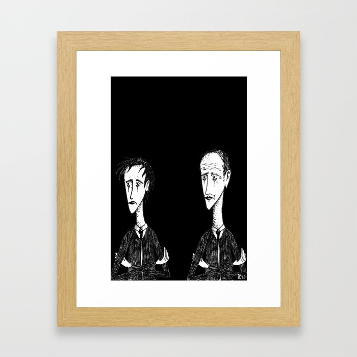 My old man Framed Art Print