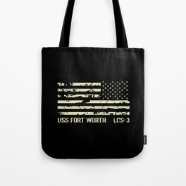 USS Fort Worth Tote Bag