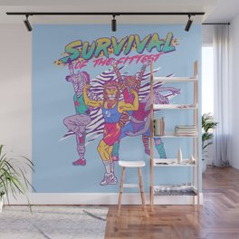 Survival of the Fittest Wall Mural