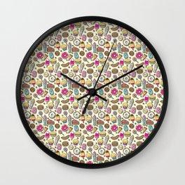 Sweet Eats Wall Clock