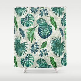 Lush Greens Shower Curtain