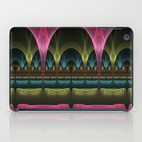 theatre iPad Cases featuring Theatre of Fantasy Fractal by gabiw Art