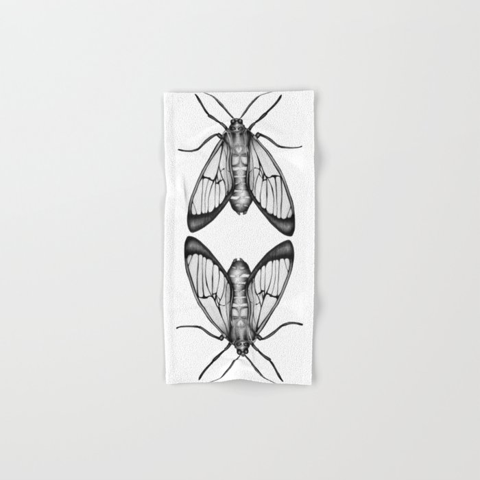 Wasp Moth Hand & Bath Towel