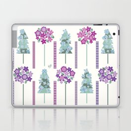 Geometric flowers Laptop & iPad Skin