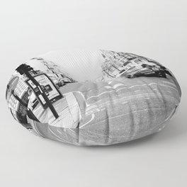 London street Floor Pillow