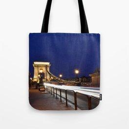 Szechenyi Chain bridge Tote Bag