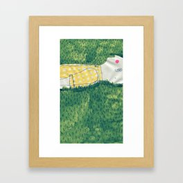 look at me not Framed Art Print