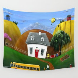 Hilly Homework Wall Tapestry