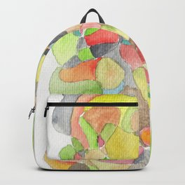 Life and Meaning 10| Abstract Watercolors Backpack