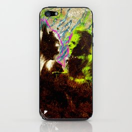 Confrontation. iPhone Skin