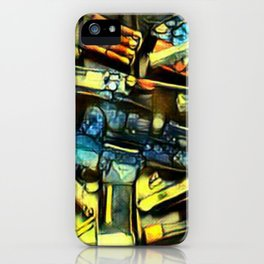 Guns of John  Wick iPhone Case