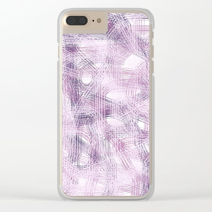 Abstract 376 Clear iPhone Case