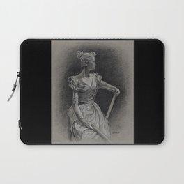 Sitting Lady, Dame Assise, Paul du Bois, Bruxelles Laptop Sleeve