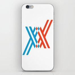 darling in the franxx iPhone Skin