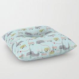 Get Your Kicks Floor Pillow