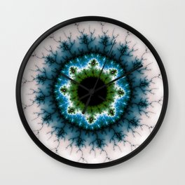 Fractal Eye 2 Wall Clock