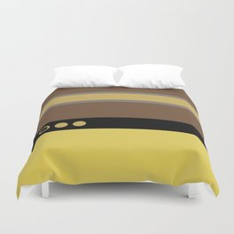 Geordie La Forge - Minimalist Star Trek TNG The Next Generation - 1701 D startrek Trektangles Duvet Cover