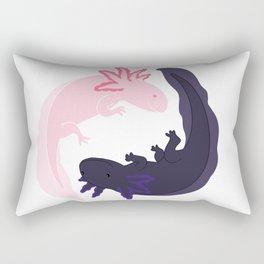 Yin&Yang Axolotls Rectangular Pillow