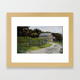 Vineyard in Cape May, NJ Framed Art Print