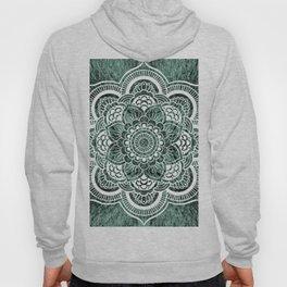 Mandala Soft Green Colorburst Hoody