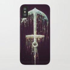 Upside Anchor iPhone X Slim Case