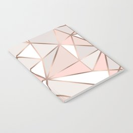 Rose Gold Perseverance Notebook