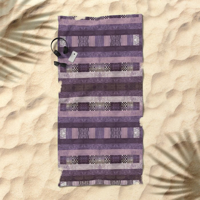 Quilt Top - Antique Twist Beach Towel