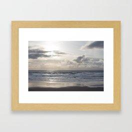 Silver Scene Framed Art Print