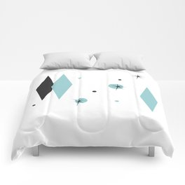 Vintage 1950s Mid Century Modern Design Comforters