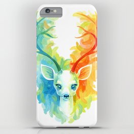 Feather Fawn iPhone Case