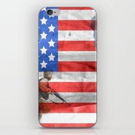 Veterans American Flag iPhone Skin