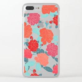 Rose Garden - Dark Clear iPhone Case