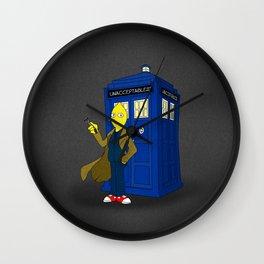 Doctor Lemongrab  Wall Clock