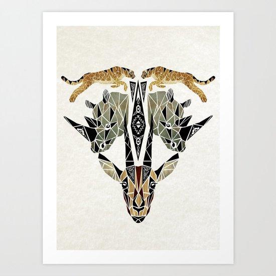 savane Art Print