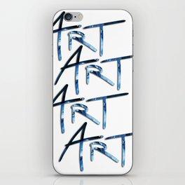 Art Break iPhone Skin