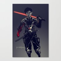 geo Canvas Prints featuring Geo by Benedick Bana