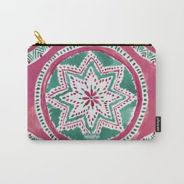 Holiday MIGHTY MEDALLION Mandala Carry-All Pouch