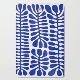 Blue seaweed hanging Cutting Board