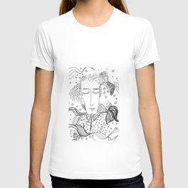 Sueños de sirenas T-shirt