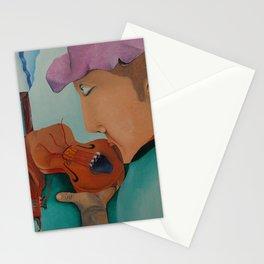 Fiddler Stationery Cards