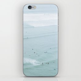 Tiny Surfers from the Sky 5, Lima, Peru iPhone Skin